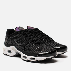 Женские кроссовки Nike Air Max Plus Black/Black/White