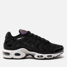 Женские кроссовки Nike Air Max Plus Black/Black/White фото- 3