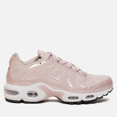 Женские кроссовки Nike Air Max Plus Premium Barely Rose/Barely Rose/Black