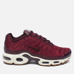 Кроссовки Nike Air Max Plus Premium Night Maroon/Noble Red/Sail фото- 0