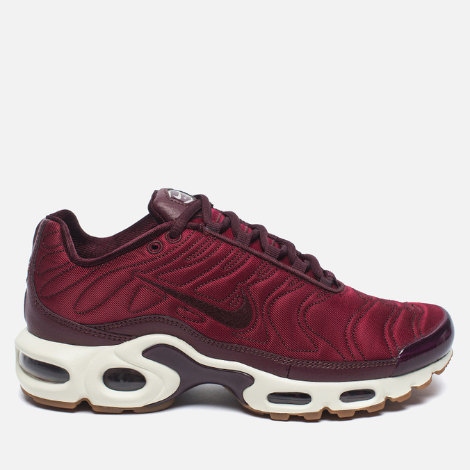 Кроссовки Nike Air Max Plus Premium Night Maroon/Noble Red/Sail