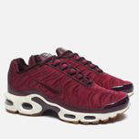 Кроссовки Nike Air Max Plus Premium Night Maroon/Noble Red/Sail фото- 1