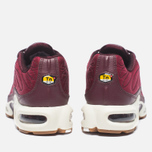 Кроссовки Nike Air Max Plus Premium Night Maroon/Noble Red/Sail фото- 3