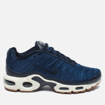 Nike Air Max Plus Premium Sneakers Obsidian/Coastal Blue/Sail photo- 0