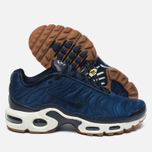 Nike Air Max Plus Premium Sneakers Obsidian/Coastal Blue/Sail photo- 2