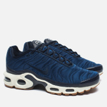 Nike Air Max Plus Premium Sneakers Obsidian/Coastal Blue/Sail photo- 1
