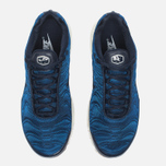 Nike Air Max Plus Premium Sneakers Obsidian/Coastal Blue/Sail photo- 4