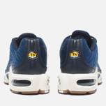 Nike Air Max Plus Premium Sneakers Obsidian/Coastal Blue/Sail photo- 3