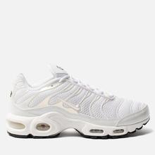 Женские кроссовки Nike Air Max Plus Premium White/White/White/Black фото- 3