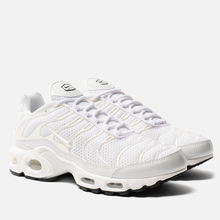 Женские кроссовки Nike Air Max Plus Premium White/White/White/Black фото- 0