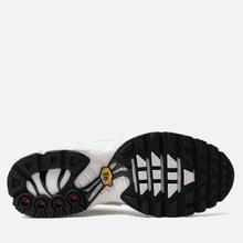 Женские кроссовки Nike Air Max Plus Premium White/White/White/Black фото- 4