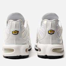 Женские кроссовки Nike Air Max Plus Premium White/White/White/Black фото- 2