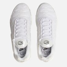 Женские кроссовки Nike Air Max Plus Premium White/White/White/Black фото- 1