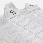 Женские кроссовки Nike Air Max Plus Premium White/White/White/Black фото- 5