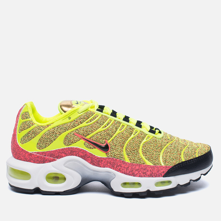 Nike Кроссовки Air Max Plus SE Volt/Black/Hot Punch