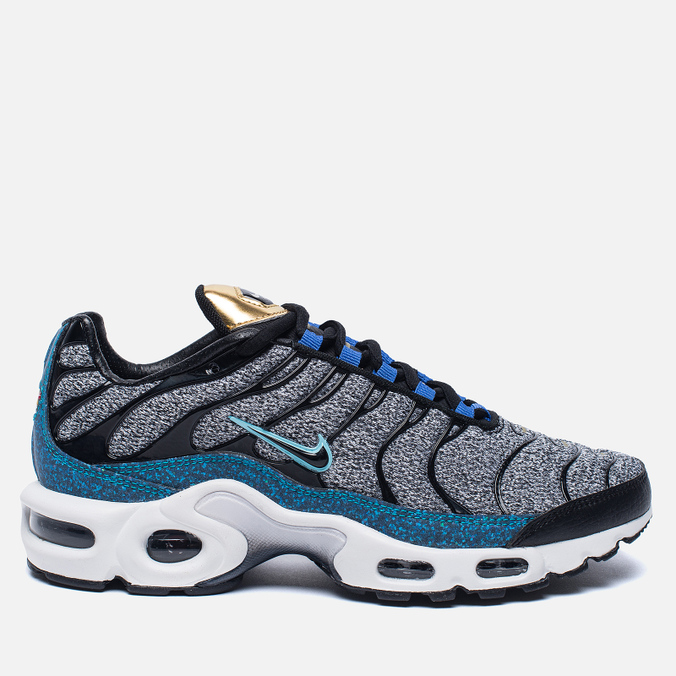Кроссовки Nike Air Max Plus SE Grey/Black/Blue/White