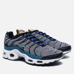 Кроссовки Nike Air Max Plus SE Grey/Black/Blue/White фото- 2