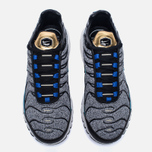 Кроссовки Nike Air Max Plus SE Grey/Black/Blue/White фото- 4