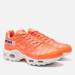 Женские кроссовки Nike Air Max Plus SE Just Do It Total Orange/White/Black