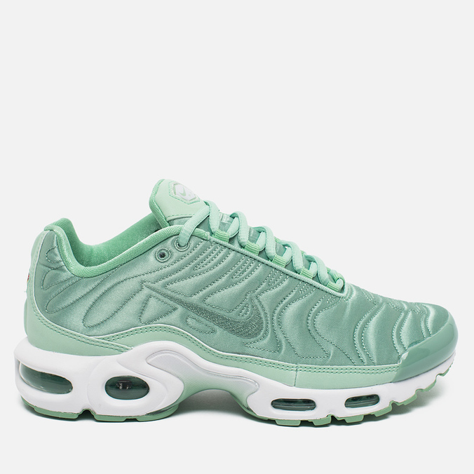 Женские кроссовки Nike Air Max Plus SE NT Satin Pack Enamel Green/White