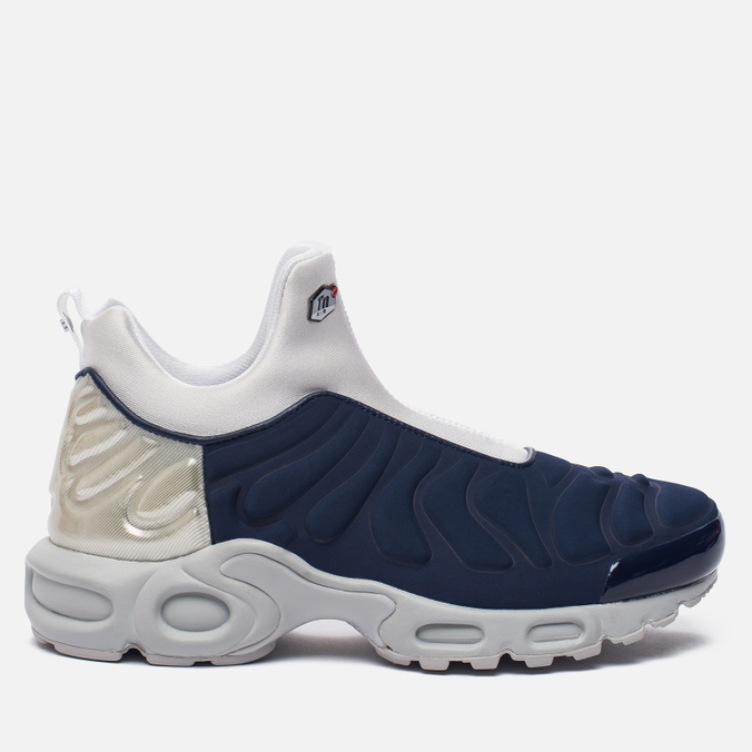 Женские кроссовки Nike Air Max Plus Slip SP Midnight Navy/Metallic Silver/Light Ash Grey