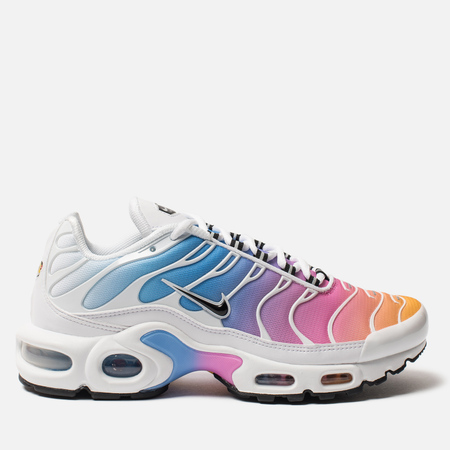 4cb623fd Женские кроссовки Nike Air Max Plus White/Black/University Blue/Psychic Pink