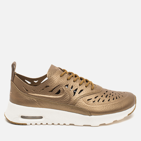 Nike Air Max Thea Joli Metallic Women's Sneakers Golden Tan