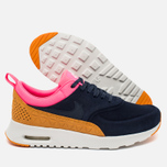 Женские кроссовки Nike Air Max Thea Leather Dark Blue/Orange/Pink/White фото- 2