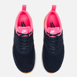 Женские кроссовки Nike Air Max Thea Leather Dark Blue/Orange/Pink/White фото- 4