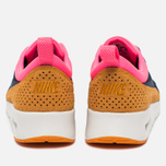 Nike Air Max Thea Leather Women's Sneakers Dark Blue/Orange/Pink/White photo- 3