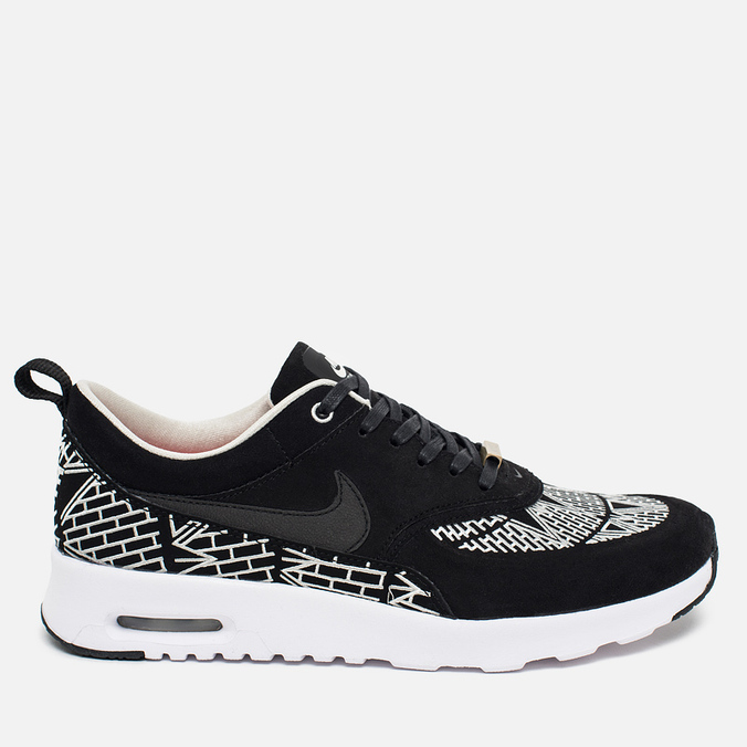 Женские кроссовки Nike Air Max Thea LOTC QS New York Black/White