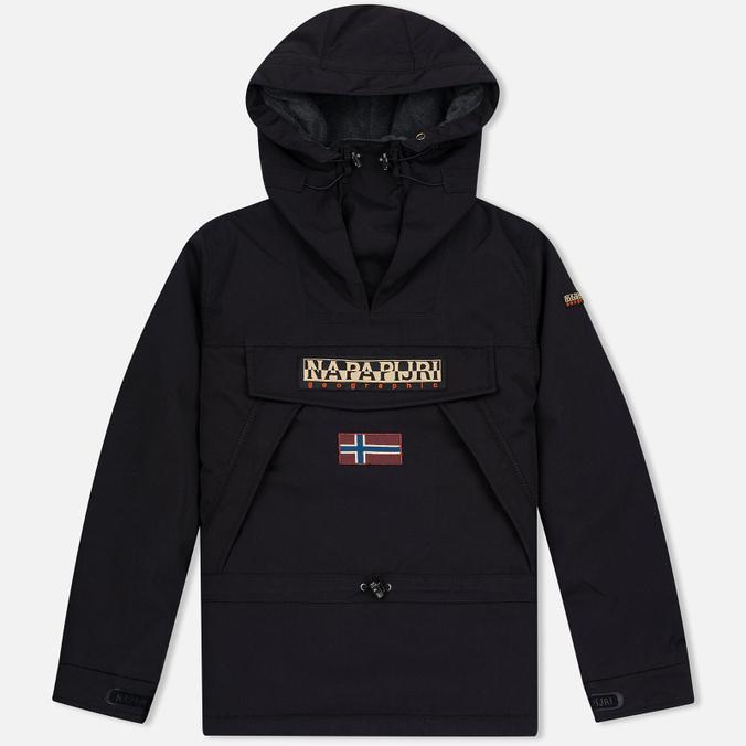 Мужская куртка анорак Napapijri Skidoo Black