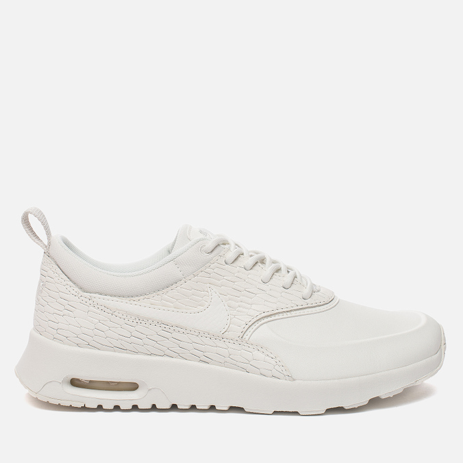 Женские кроссовки Nike Air Max Thea Premium Leather Sail/Sail/Light Bone/White