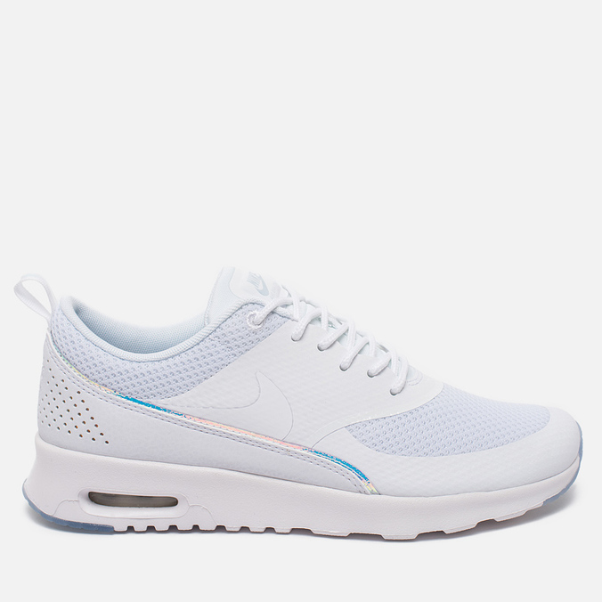 Женские кроссовки Nike Air Max Thea Premium White/Blue Tint