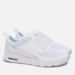 Женские кроссовки Nike Air Max Thea Premium White/Blue Tint фото- 1