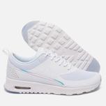 Женские кроссовки Nike Air Max Thea Premium White/Blue Tint фото- 2