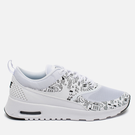 Nike Air Max Thea Print Women's Sneakers White/Black