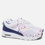 Женские кроссовки Nike Air Max Thea Print White/Dark Purple Dust/Hyper Violet фото- 1