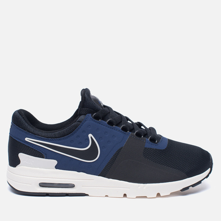 Женские кроссовки Nike Air Max Zero Black/Ivory/Binary Blue