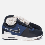Женские кроссовки Nike Air Max Zero Black/Ivory/Binary Blue фото- 1