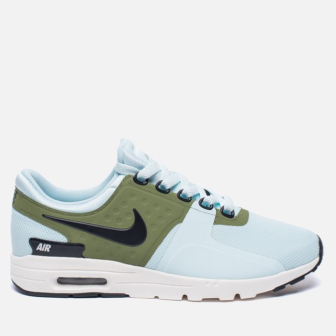 Женские кроссовки Nike Air Max Zero Glacier Blue/Black/Ivory/Palm Green