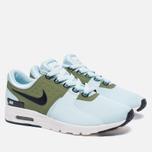 Женские кроссовки Nike Air Max Zero Glacier Blue/Black/Ivory/Palm Green фото- 2
