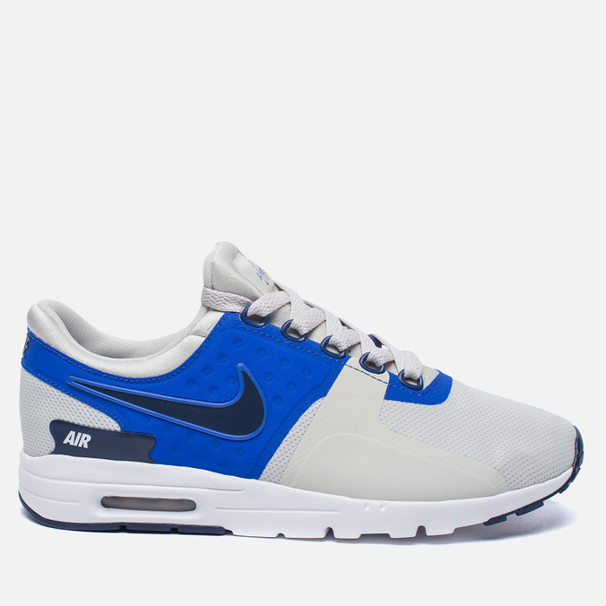 Женские кроссовки Nike Air Max Zero Light Bone/Binary Blue