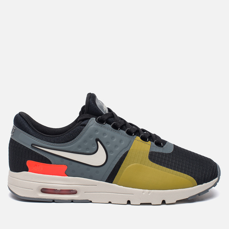 Женские кроссовки Nike Air Max Zero SI Black/Cool Grey/Total Crimson/Light Bone
