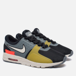 Женские кроссовки Nike Air Max Zero SI Black/Cool Grey/Total Crimson/Light Bone фото- 2