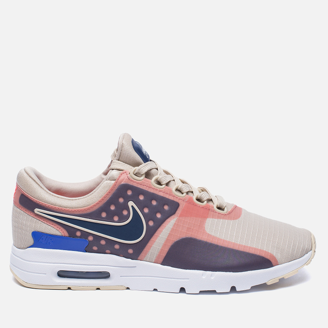 Женские кроссовки Nike Air Max Zero SI Oatmeal/Binary Blue/White