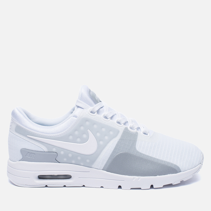 Женские кроссовки Nike Air Max Zero SI White/White/Wolf Grey