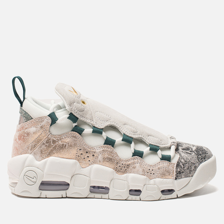 Женские кроссовки Nike Air More Money LX Summit White/Summit White/Oil Grey