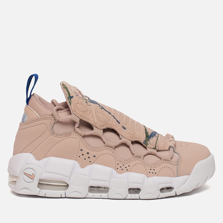 Женские кроссовки Nike Air More Money Particle Beige/Particle Beige/White