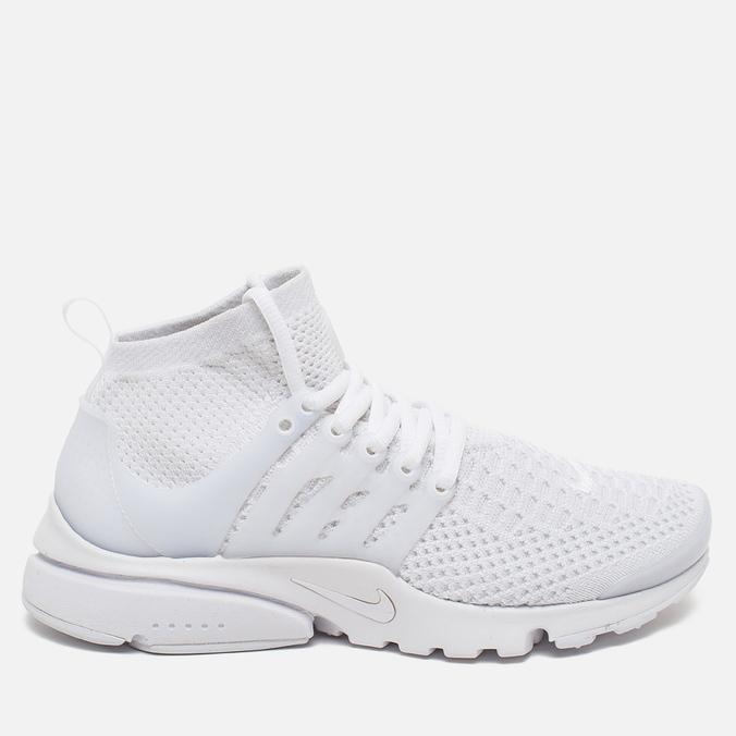 Женские кроссовки Nike Air Presto Flyknit Ultra White/White